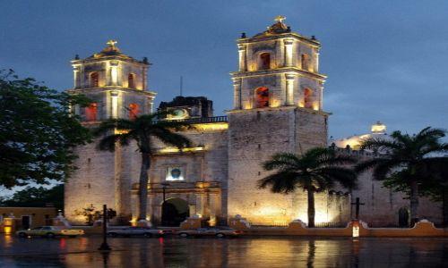 Zdjecie MEKSYK / Jukatan / Valladolid / Katedra