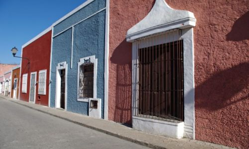 Zdjecie MEKSYK / Jukatan / Valladolid / Uliczka w Valladolid