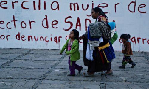 Zdjęcie MEKSYK / Chiapas / San Cristóbal de las Casas / 8 marca Dzień Kobiet
