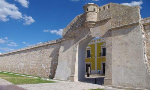 Zdjęcie MEKSYK / Jukatan / Campeche / Fortyfikacje