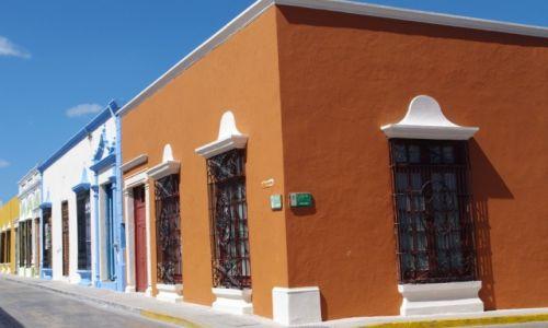 Zdjęcie MEKSYK / Jukatan / Campeche / Na rogu