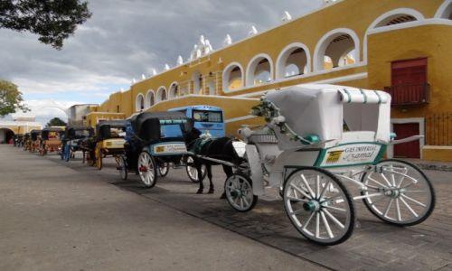 Zdjecie MEKSYK / Izamal / Izamal / Czekając na turystów