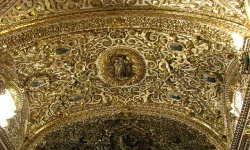 Zdjęcie MEKSYK / stan Puebla / Puebla / kaplica różańcowa w kościele San Domingo