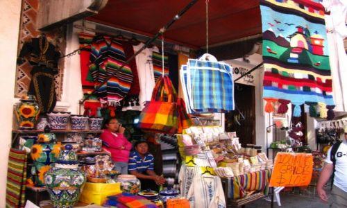 Zdjęcie MEKSYK / stan Puebla / Puebla / na targu