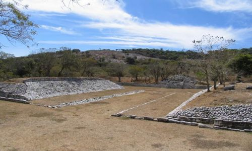 Zdjecie MEKSYK / Chiapas / okolice Comitan / meksyk01