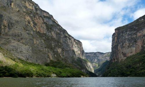 Zdjęcie MEKSYK / Chiapas / okolice Chiapa de Corzo / Kanion Sumidero