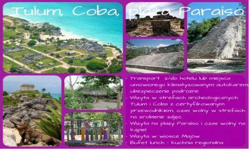 Zdj�cie MEKSYK / Jukatan / Tulum Coba / Tulum Coba