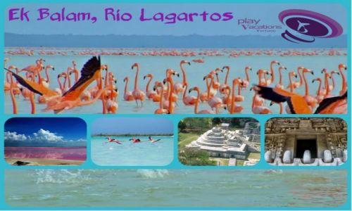 Zdj�cie MEKSYK / Jukatan / Ek Balam Rio Lagartos / Ek Balam Rio Lagartos