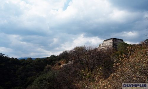 Zdj�cie MEKSYK / Puebla / Tepotzl�n / Piramida w Tepotzl�n