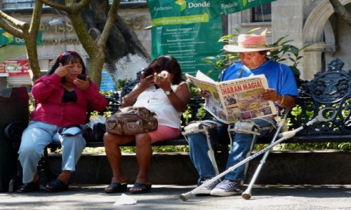 Zdjęcie MEKSYK / Morelos / Plaza Juárez, Cuernavaca / Sztuka uwodzenia