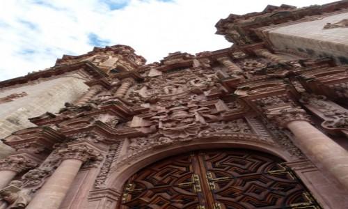 Zdj�cie MEKSYK / Guerrero / Taxco / Ko�ci� Santa Prisca