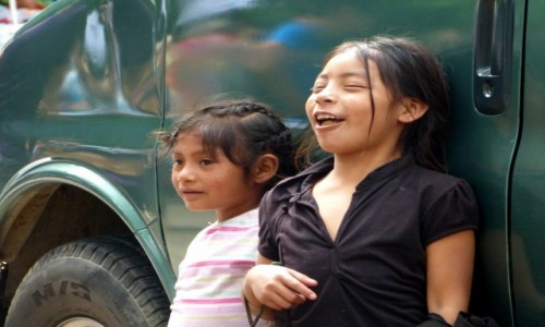 Zdj�cie MEKSYK / Chiapas / Palenque / Beztrosko