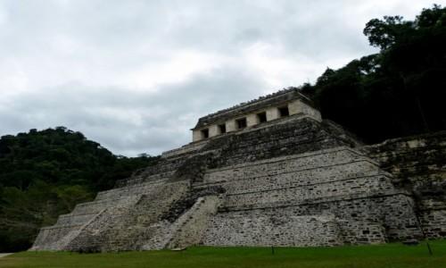 Zdjęcie MEKSYK / Chiapas / Palenque / Świątynia Inskrypcji