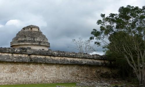 Zdjecie MEKSYK / Jukatan / Chichén Itzá / Obserwatorium a