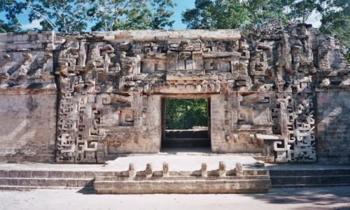 Zdjęcie MEKSYK / Campeche / Chicanna / Struktura II