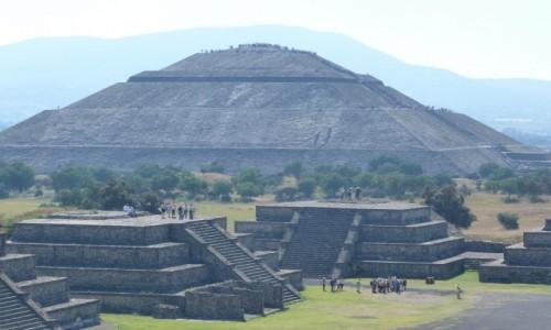 Zdjecie MEKSYK / Teotihuacan / Teotihuacan / Piramidy