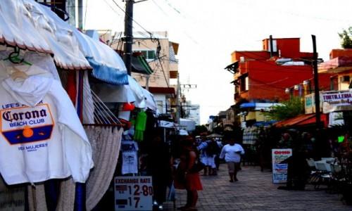 Zdjecie MEKSYK / - / Isla Mujeres / ulica Isla Muje