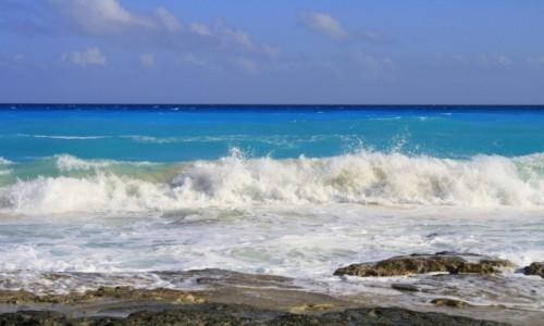 Zdjecie MEKSYK / - / Cancun / kolory morza