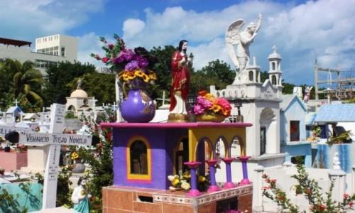 Zdjecie MEKSYK / Isla Mujeres / Isla Mujeres / Cmentarz na Isl