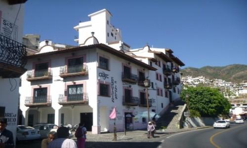 Zdjecie MEKSYK / Guerrero / Taxco / Budynki Taxco