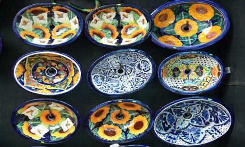 Zdjecie MEKSYK / brak / Miasto Meksyk, dzielnica Coyocan / A to ... umywalki :)