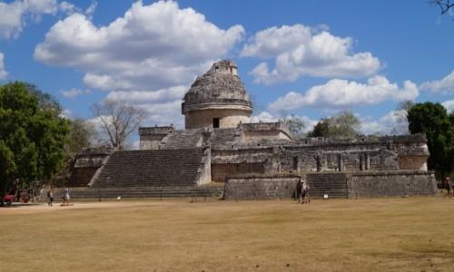 Zdjecie MEKSYK / Jukatan / Chchen Itza / Tu patrzyli w gwiazdy
