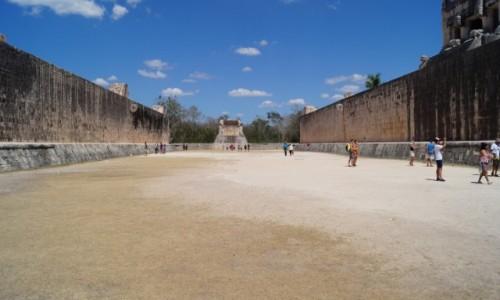 Zdjecie MEKSYK / Jukatan / Chchen Itza / Pograłoby się