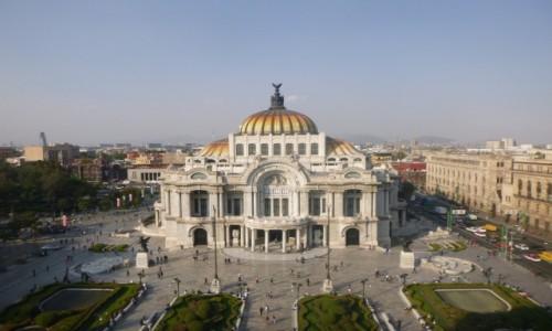 Zdjęcie MEKSYK / Miasto Meksyk / Miasto Meksyk / Bellas Artes