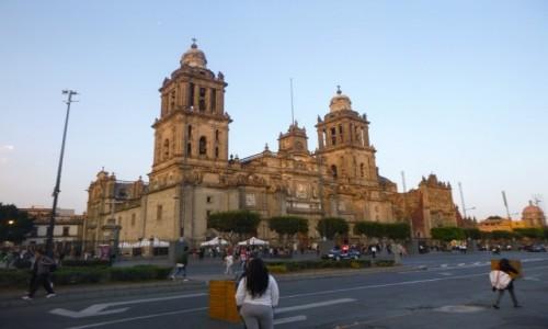 MEKSYK / Miasto Meksyk / Miasto Meksyk / Zocalo