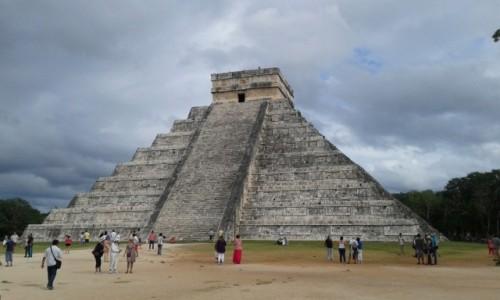 Zdjecie MEKSYK / - / Chichén Itzá i Piramida Kukulkana / Chichén Itzá i Piramida Kukulkana