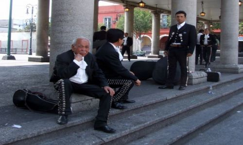 Zdjęcie MEKSYK / Miasto Meksyk / Miasto Meksyk / Mariachi