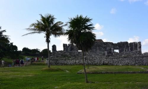 Zdjęcie MEKSYK / - / Tulum /  Ruiny Majów w Tulum