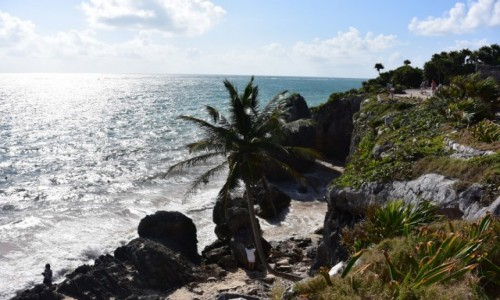 Zdjecie MEKSYK / - / Tulum / Średniowieczny port Majów  w Tulum