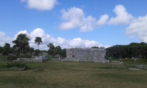 Zdjecie MEKSYK / - / Tulum / Ruiny Majów w Tulum