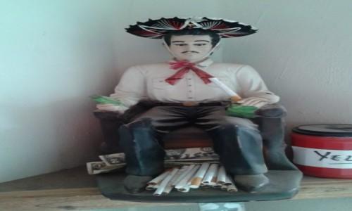 Zdjecie MEKSYK / - / Jukatan / Jesús Malverde- patron handlarzy i przemytników narkotyków