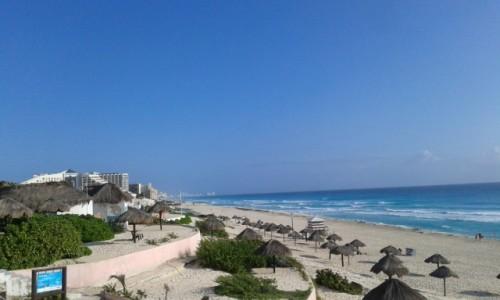 Zdjecie MEKSYK / - / Cancun / Plaża w Cancun