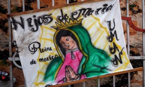 Zdjecie MEKSYK / Jukatan / Izamal / Hijos de Maria
