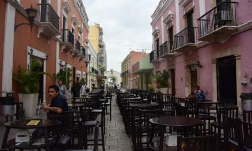 Zdjecie MEKSYK / - / Campeche, / Campeche miasto kolonialne