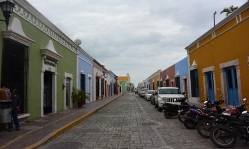 MEKSYK / - / Campeche / Campeche miasto kolonialne