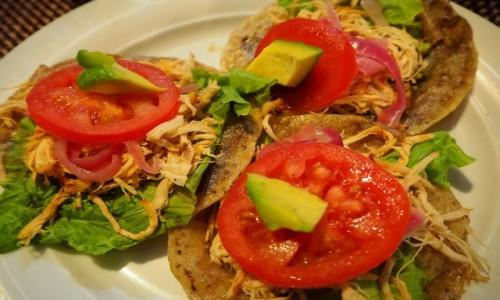 Zdjecie MEKSYK / Jukatan / Izamal / Tacos