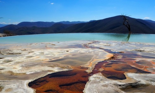 MEKSYK / stan Oaxaca / Hierve el Agua / Hierve el Agua