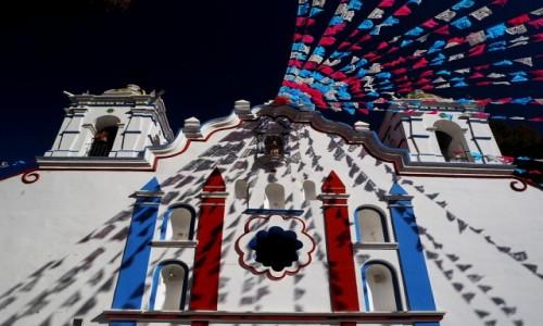 MEKSYK / Jukatan / Santa María del Tule  / Kościół Matki Bożej Wniebowziętej