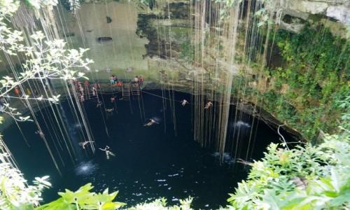 Zdjęcie MEKSYK / Jukatan / Jukatan / Cenote Ik Kil