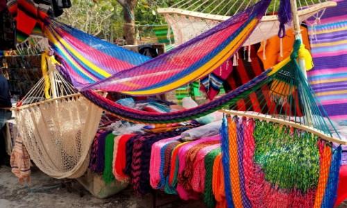 Zdjęcie MEKSYK / Jukatan / Chichén Itzá / Kup Pan hamak