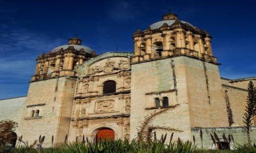Zdjęcie MEKSYK / stan Oaxaca / Oaxaca de Juárez / Świątynia Santo Domingo de Guzmán