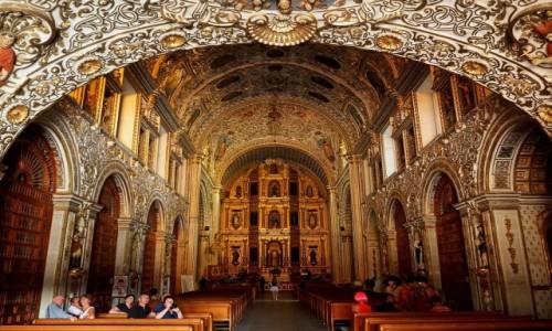 Zdjecie MEKSYK / stan Oaxaca / Oaxaca de Juárez / Świątynia Santo Domingo de Guzmán