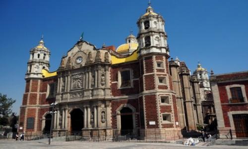 Zdjęcie MEKSYK / Meksyk / północna część miasta Meksyk / Sanktuarium Matki Bożej z Guadalupe