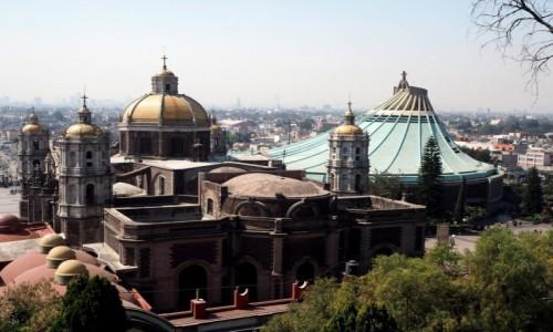 Zdjęcie MEKSYK / Meksyk / pólnocna część miasta Meksyk / Bazylika Matki Boskiej z Guadalupe
