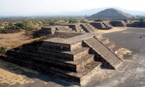 Zdjęcie MEKSYK / okolice miasta Meksyk / Teotihuacán / Teotihuacán