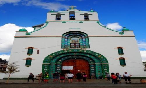 Zdjęcie MEKSYK / Chiapas / San Juan Chamula / Kościół św. Jana (San Juan)